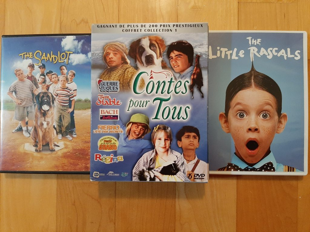 films,The Sandlot, Contes pour tous, The Little Rascals